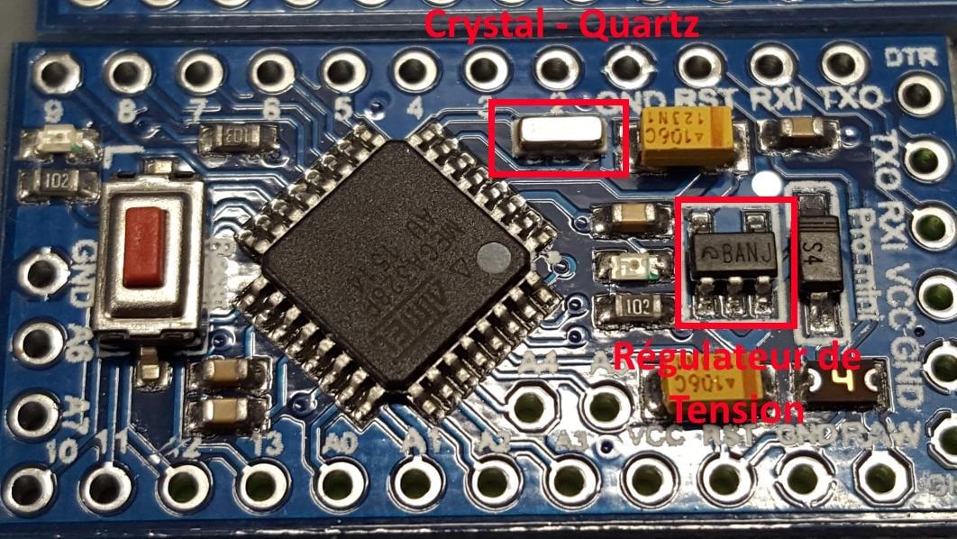 Comment reconnaître la version d un arduino pro mini